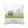 италия - рим национального исторического ландшафта площадь бросить подушку включить подушки покрытия дома диван декор подарок