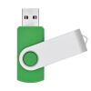 Fillinlight Green Поворотный USB-накопитель USB 2.0 Pen Drive Thumb Drive для хранения данных накопитель 16gb team t134 drive green 765441012929 tt13416gg01