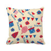 USA Candy Gift Festival Flower Love Heart Square Throw Pillow Insert Cushion Cover Home Sofa Decor Gift hungary national flag europe country square throw pillow insert cushion cover home sofa decor gift