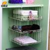 ОРЗ 3 х кабинета под хранения корзины шкаф наложенный стек шельфа кухня ванной Организатор полки