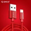 ORICO Apple Data Cable Мобильный телефон Зарядное устройство Шнур питания Шнур питания 0.5m Красный iPhone8 / X / 5S / 6s / 7 / Plus / iPad Air Mini LTF-05 orico ltf 10 кабель для передачи данных для iphone8 x 5s 6s 7 plus ipad air mini