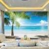 Пользовательские фото 3D обои Юго-Восточная Азия Приморский пейзаж Ландшафт Гостиная Тема Заставка Mural Wall Paper Home Decor