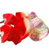 Фото Новые поступления Dance Fans 100% Silk Veils Цветные 180 см Женщины Belly Dance Fan Veils (2 шт.) Красный + смешанные цвета