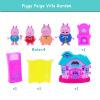 Розовый поросенок Игрушки для маленьких детей Ролевые игры мини модель украшения Ролевые игры игрушки Симпатичные Животные Пластик