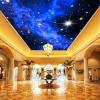 Пользовательские фото Wall Paper 3D Star Потолочные обои 3D Гостиная Спальня KTV Бар Потолок Стена Картина Нетканые обои Mural