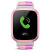 Маленький гений телефон смотреть Y01S светло-розовый детей умные часы 360 градусов безопасности защиты позиционирования мобильный телефон детский телефон смотреть детский мобильный телефон девушка детский