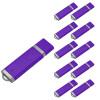 Fillinlight 10PCS Pack Purple Rectangle Lighter Shape USB Flash Drive USB 2.0 Pen Drive Flash Drive