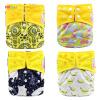 Карманные тканевые подгузники с вкладышами Водонепроницаемые подгузники для 3-15 кг Baby One Size Fit All подгузники