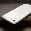 Фото Baseus Apple iPhone8 фильм 3D / 4D изогнутая задняя пленка закаленная пленка полноэкранная стеклянная пленка iphone8 защитная пленка для мобильного телефона взрывозащищенная защита задняя пленка 0,3 мм серебро пленка