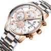 часы мужские NIBOSI Топ люксовый бренд Модные наручные часы из нержавеющей стали мужские часы водонепроницаемые Relogio masculino часы