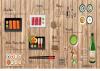 Фото обои 3D мультфильм ручной росписью Горячий магазин горшок Японская еда суши дамы большая роспись обои суши