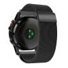 Миланская петля из нержавеющей стали для замены сетки браслет для Garmin Fenix 3 / Fenix 3 HR / Fenix 5X Smart Watch garmin fenix 3 hr steel on black