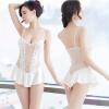 Ло Яо мечта сексуальное женское бельё женская сетка стропа ночная рубашка Перспектива купальник домашний сервис сексуальная пижама одежда белый T брюки L1106 купальник livia corsetti gandhali s