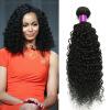 3Pcs Brazilian Hair Kinky Curly Bundles Human Hair Weaves Brazilian Kinky Curly No Sheding No Tangle Soft Curly Human Hair carina hair brazilian human hair 130