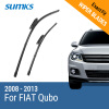 SUMKS Wiper Blades for FIAT Qubo 26&19 Fit Bayonet Arms 2008 2009 2010 2011 2012 2013