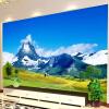 Пользовательские обои для фото 3D Нетканые современные дизайны HD Природные ландшафтные настенные декорации Гостиная Спальня Mural De Pared 3D декорации настенные sia декор