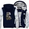 Новый 2018 Оптовые Толстые толстовки новый WALKING DEAD свитер с капюшоном бархат пальто горячей быстрой доставки оптовые базы киев химия где
