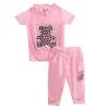 малого @ 2pcs малыш детская одежда девочек яркие дрель несут одежду костюмы, костюмы 2-5y наборов