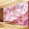 3D Романтическая роза Цветочная Vine Art Silk Wall Painting Обои Современная гостиная Спальня Пользовательские обои для рабочего стола Обои для стен 3D высококачественные пользовательские 3d обои для обоев для спальни 3d ландшафт для сада и сада