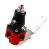 racing Universal Red and Black Anodized 3-65 psi Bypass fuel injection pressure regulator racing fuel regulator delivery adapter