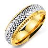 Корея Модные ювелирные изделия из нержавеющей стали Кольцо Мужчины Мода Ювелирные изделия 6MM Finger Кольца Аксессуары Мужской подарок OR559