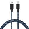 Фото Micro USB-кабель, сверхпрочный зарядный кабель и кабель синхронизации данных для Android / Windows / MP3 / Camera и другого устрой кабель