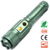 Induction Electric Zoom LED Flashlight CREE T6 Long Range Fishing Camping Portable Light 1000 Lumens 10W Olight Torch supfire y11 cree t6 1100 lumen 10w waterproof 5 modes led flashlight rechargeable torch for hunting camping by 18650 battery