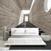 Пользовательские Настенная роспись Нетканые ткани Обои для стен 3D Визуальное пространство Дерево Зерно фона Стены Декоративные обои Картина