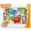 Auby развивающие игрушки Детские бубенца 5 шт. Детские игрушки  463133DS оптом купить детские игрушки в москве
