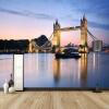 Пользовательские обои 3D Mural Обои Европейский стиль Лондонский мост Фото Стены Обои Домашний декор Гостиная Спальня Backdrop Обои Roll европейский стиль роскошный интерьер декор обои настенные обои 3d stereo swan silk обои отель villa living room backdrop walls