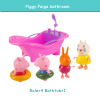 Розовый поросенок Игрушки для маленьких детей Ролевые игры мини модель украшения Ролевые игры игрушки Симпатичные Животные Пластик barneybuddy barneybuddy игрушки для ванны стикеры забавные животные