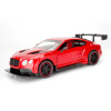 201 New Rc Car Alloy car Bentley Continental coupe sound and light back to open the door for children and boys puzzle car 2pcs ghost shadow logo welcome car led door light laser courtesy slide projector logo emblem light for bentley