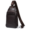 Danjue из натуральной коровьей кожи Мужская Грудь сумка рюкзак досуг мужчина дорожная сумка чёрный; Коричневый оптовая продажа нат