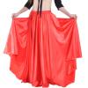 Профессиональная женская одежда для танца живота Полная юбка с атласной юбкой Фламенко Юбки Плюс Размерная юбка для танца живота юбки evrika юбка женская вектра