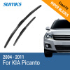 SUMKS Wiper Blades for KIA Picanto 22&16 Fit Hook Arms 2004 2005 2006 2007 2008 2009 2010 2011