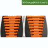 JUP8 устанавливает 128 шт Новый творческий дизайн Мужские женщины Мужчины Спортивная одежда Нет галстуков Шнурки Упругие силиконов джинсы мужские prps goods