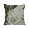 Beauty Vine Snake Chinese Style Watercolor Polyester Toss Throw Pillow Square Cushion Gift