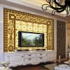 Пользовательские обои для фото 3D Стерео Европейский цветочный узор Гостиная Спальня Отели Потолочные настенные обои Обои для стен 3 D самые дешевые обои для стен брянск