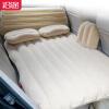 Автомобильная надувная кровать с головной защитой сплит-каркас на заднем сиденье надувной матрас для матраса матрас для белья Бежевый N25 надувной матрас camping mats 127х193х24см intex