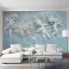 Персонализированная настройка европейского стиля 3D стерео рельеф ангела фотообои Обои для рабочего стола Фон для стен Обои для стен декор для стен
