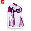 NUCKILY Summer Custom Велосипедная одежда Женская фиолетовая цветовая гамма Джерси GH001
