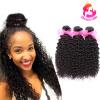 Dream Like Hair 8A Индейские кудрявые волосы 3 комплекта 100% человеческих волос Virgin 300g / lot like a virgin secrets they won t teach you at business school