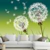 Пользовательские обои Mural для стены 3D соломы Красивые свежие фотографии одуванчика фото для комнаты телевизор диван фон Нетканые стены обложка парфюмерия фото красивые