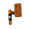 Best Quality Power On Off Switch Button Key Flex Cable For Samsung S5 I9600 G900F Replacement Parts Free Shipping original switch on off power