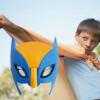 Маска для детей Маска для супергероя для детей со светом