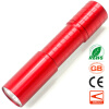 Mini LED Flashlight Pocket Portable Light Best Gift Present for Girlfriend Long Range Torch Aluminum Alloy Waterproof
