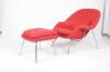 Womb Chair and Ottoman (Шерсть, красный) leadshine 180w brushless dc servo motor 57bl180d 1000 circular flange 36vdc 7a 0 57nm 3000rpm