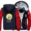 Зимние осенние толстовки RICK PEACE AMONG WORLDS модель Руно Пальто Бейсбол Униформа Спортивная одежда Куртка шерсть одежда