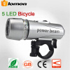 Bike Bicycle 5 LED Power Beam Front Cycling Light Bike Head Light Bike Accessories 5 LED Headlight Headlamp Headtorch Energy Savin waterproof 2000 lumen led cree xml2 u2 led cycling bicycle bike usb 18650 light lamp headlight headlamp headlight strips charger
