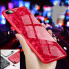 Tempered glass Phone Case Foil Bling Paillette Phone Cases For iPhone 8 7 6 6S Plus X White Conch Shell Phone Case phone shell marble painted phone shell relief soft shell tpu creative art mobile phone sets for iphone 8 7 7plus 6 6s